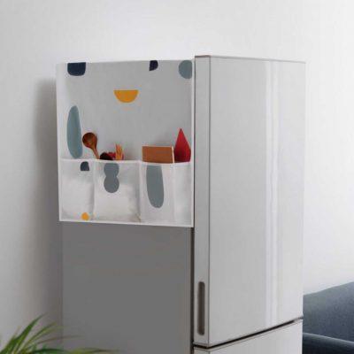 Nature Fridge Cover & Holder Kitchen Refrigerator Storage Organizer Organiser Style Degree Sg Singapore