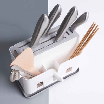 Aero Knife & Utensils Holder, kitchen holders, kitchen organisers, utensils holder, kitchen knife holder, kitchen improvements, decor, organisation, organization, organiser, chopsticks, fork and spoon, style degree, singapore, sg