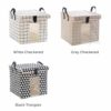 Retro Storage Bag Anti-Dust Quilt Box Bag Cover Closet Wardrobe Organizer Organiser Home Decor Style Degree Sg Singapore