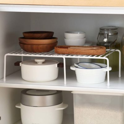 Extendable Kitchen Rack Organizer Cabinet Tabletop Organiser Pot Pans Utensils Holder Style Degree Sg Singapore
