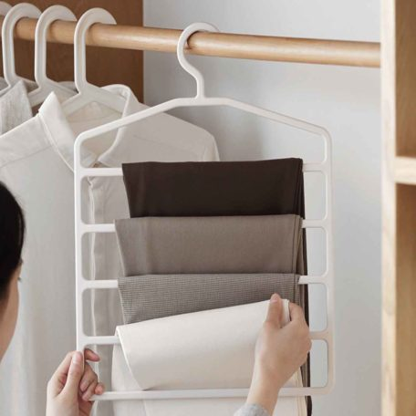 Ladder Clothes Hanger, hangers for home, home accessories, laundry homes for home, clothes hangers, closet organization, wardrobe organisation, organiser, organizer, home improvement, home improvements, style degree sg singapore
