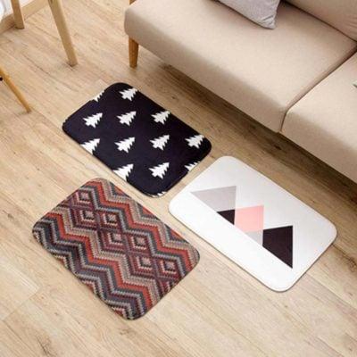Modern Floor Mat Carpet Living Room Toilet Bathroom Anti Slip Mat Home Decor Style Degree Sg Singapore