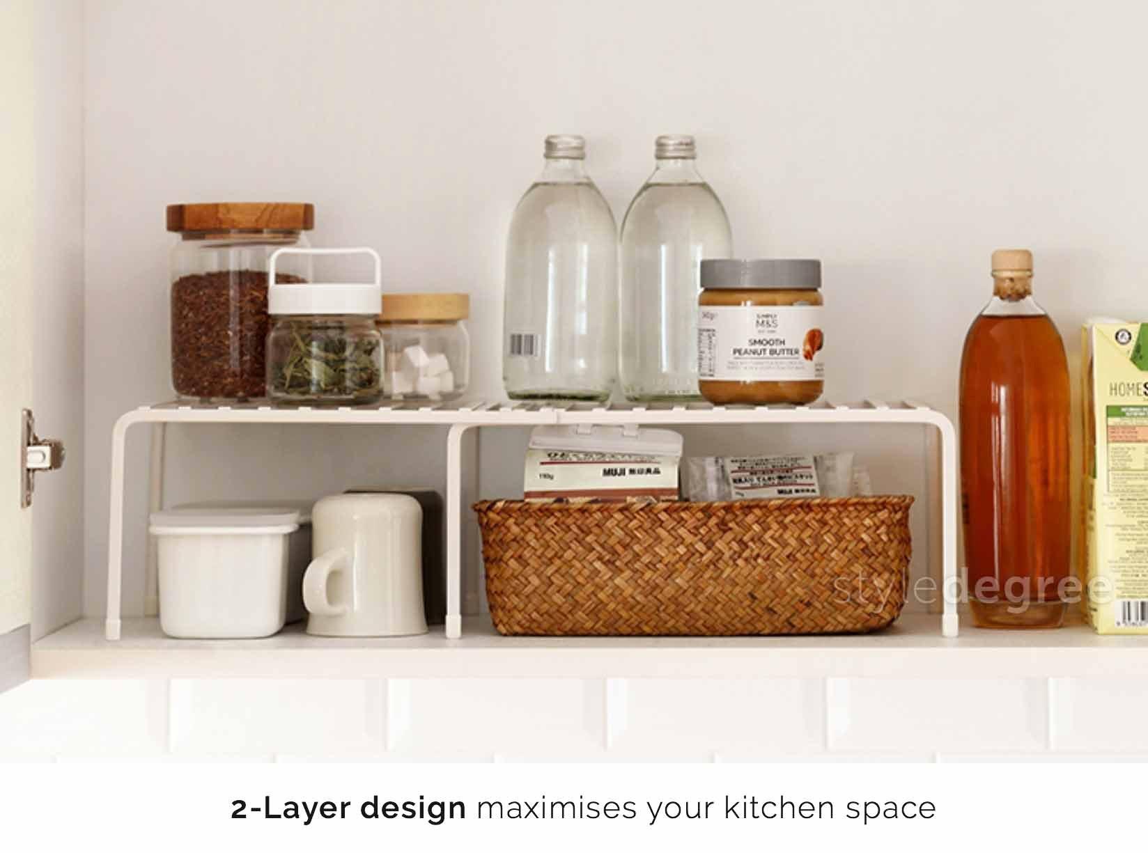 Extendable Kitchen Rack Organizer Kitchen Cabinet Style Degree