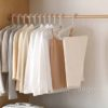 Everyday Non-Damaging Clothes Hanger (5pc Set) Closet Wardrobe Hangers Laundry Style Degree Sg Singapore