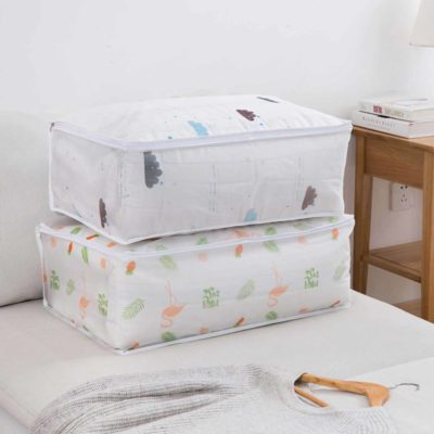 Nature Quilt & Clothes Storage Bag, clothes organisation, quilt storage, blanket storage, home storage solutions, comforter storage bag, style degree, singapore, sg
