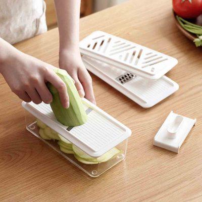 3-in-1 Shredder & Grater Set Slicer Cheese Microplane Kitchen Home Living Decor Style Degree Sg So