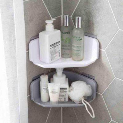 Triangle Bathroom Wall Holder Rack Toilet Organizer Organiser Style Degree Sg Singapore