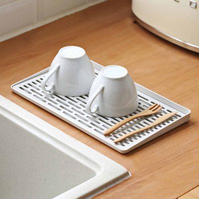 Cups Utensils Dryer Cutlery Dishes Holder Rack Organizer Organiser Kitchen Style Degree Sg Singapore