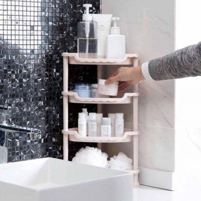 Triangle Standing Rack Toilet Toiletries Bathroom Style Degree Sg Singapore