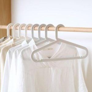 Everyday Non-Damaging Clothes Hanger (5pc Set) Closet Wardrobe Hangers Laundry Style Degree Sg Singapore