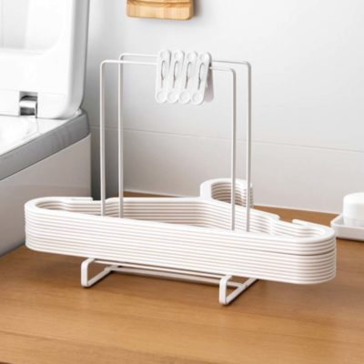 Hanger & Clips Organizer Laundry Hangers Pegs Holder Rack Style Degree Sg Singapore