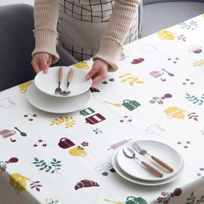 Cosy Dining Table Cloth Mat Home Decor Cover Style Degree Sg Singapore
