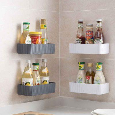 Minimalist Bathroom Wall Holder Shampoo Soap Toiletries Rack Organizer Organiser Style Degree Sg Singapore