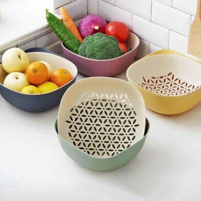Dew Colander & Stainer Fruits Vegetable Utensils Cutlery Dryer Kitchen Style Degree Sg Singapore