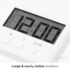 Chef & Baker Timer Oven Baking Kitchen Roasting Timer Stop Watch Clock Kitchen Magnet Style Degree Sg Singapore