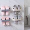 Slippers Flip Flops Wall Holder Hanging Organizer Organiser Shoe Rack Shoes Style Degree Sg Singapore