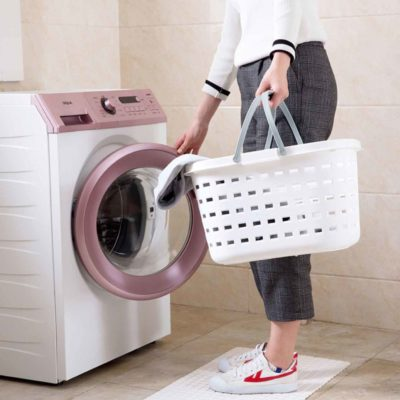 Modernly Laundry Basket Clothes Washing Machine Dry Clean Style Degree Sg Singapore