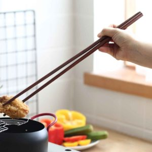 Oishii Long Wooden Cooking Deep Frying Steamboat Instant Noodles Chopsticks Wood Kitchen Style Degree Sg Singapore