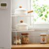 Stackable Corner Kitchen Rack Organizer Organiser Cabinet Pot Pans Holder Style Degree Sg Singapore