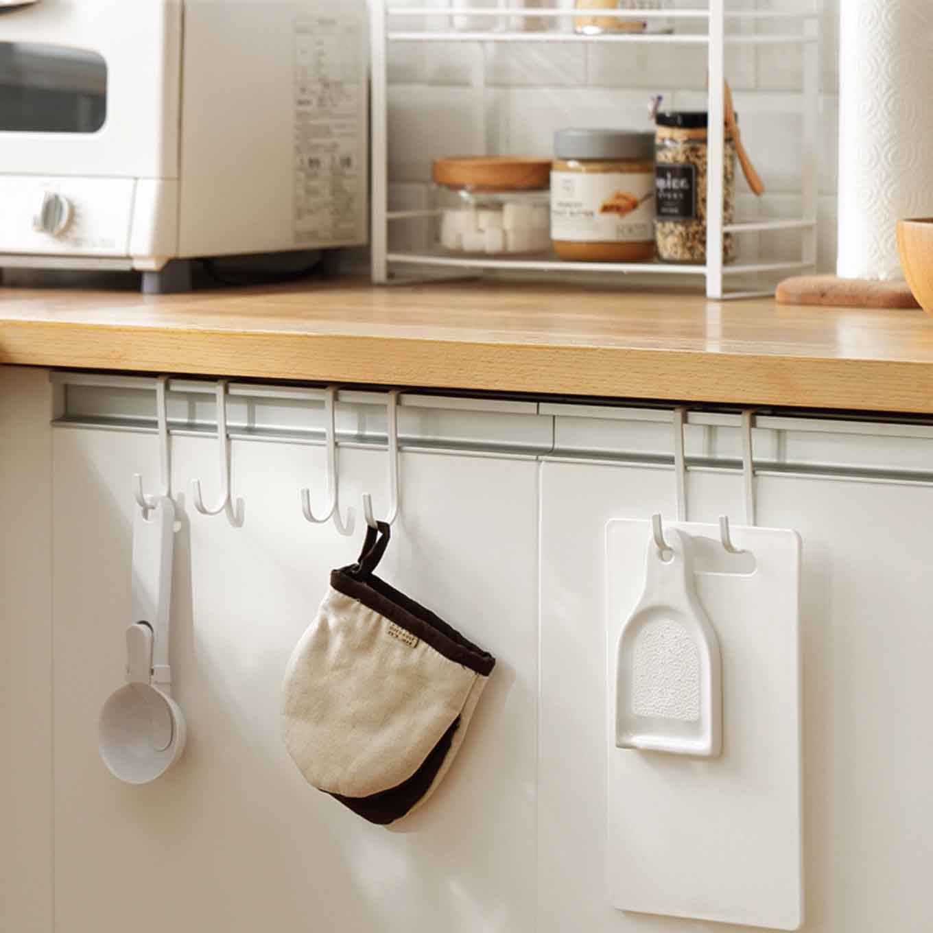 Cabinet hanging hooks 2pc set