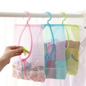 Hanging Mesh Organizer Laundry Clips Bag Organiser Hanger Style Degree Sg Singapore