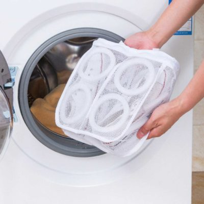Footwear Laundry Mesh Bag Shoe Slippers Washing Machine Pouch Style Degree Sg Singapore