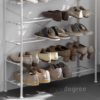 The Scandinavian Shoe Rack Shoes Racks Shoe Organizer Organiser Storage Box Slippers Heels Living Home Decor Entryway Style Degree Sg Singapore