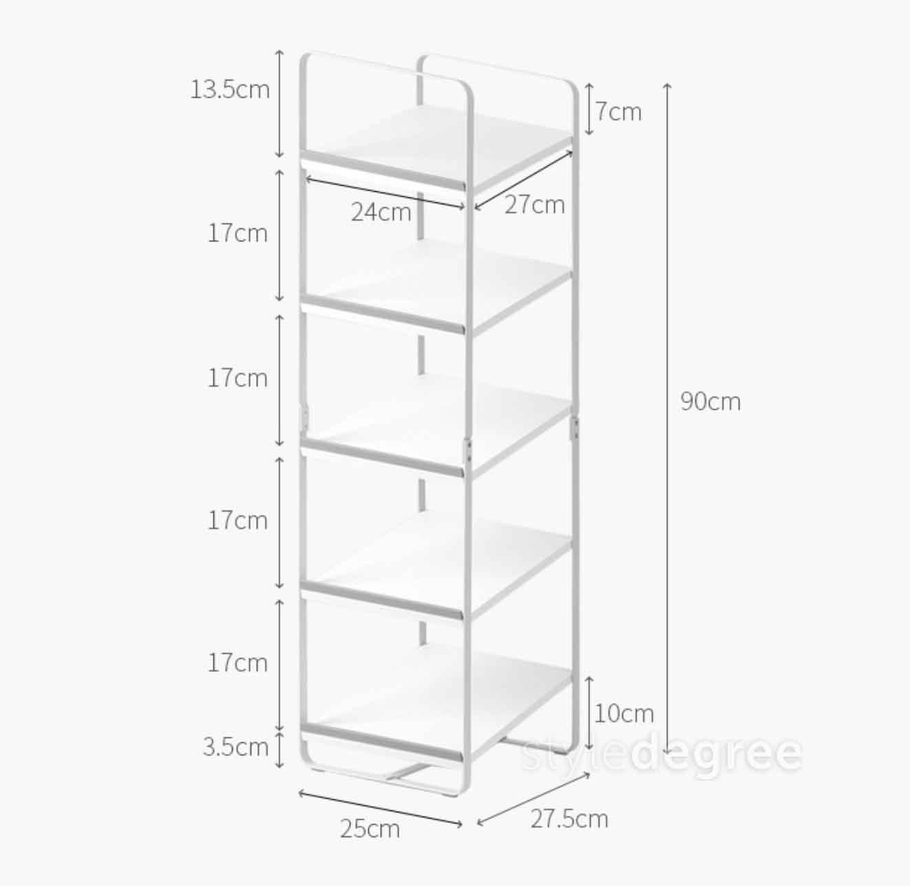 ascend shoe rack  slim design