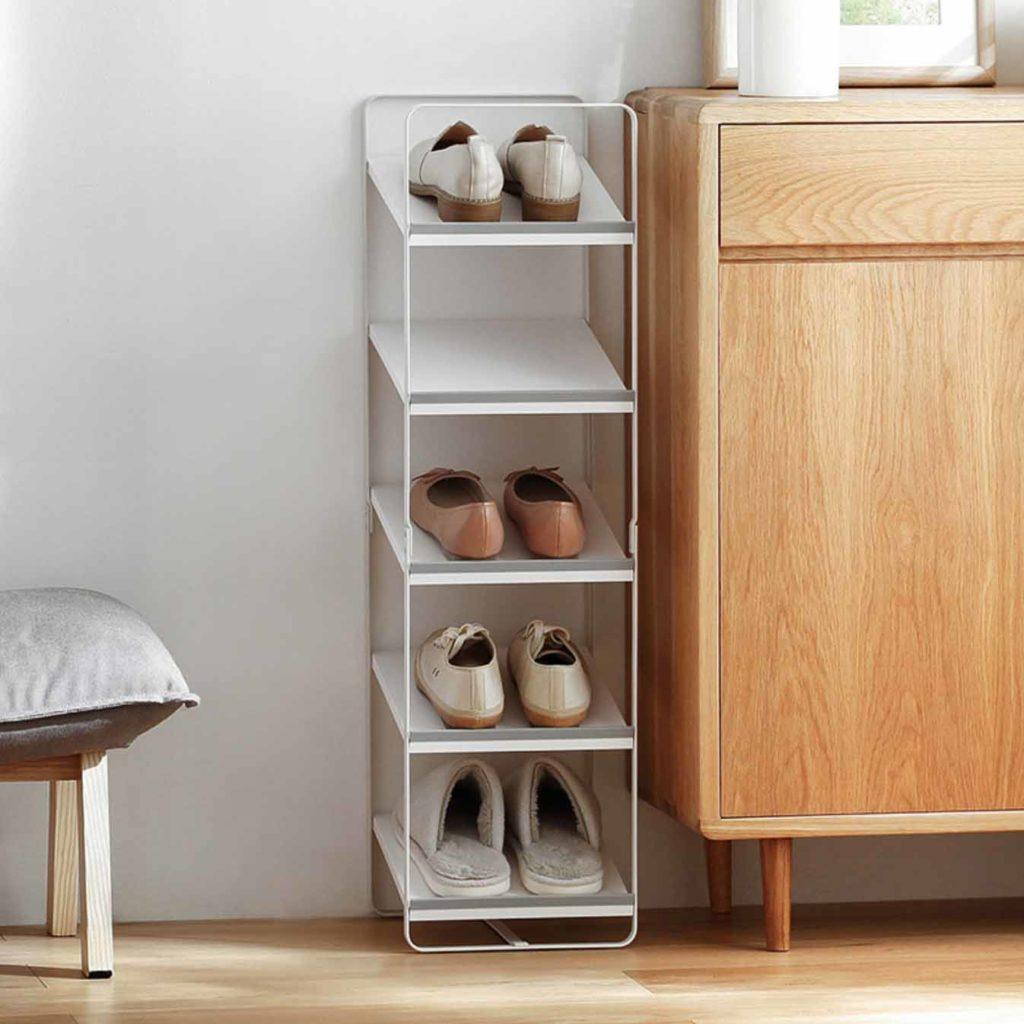 Ascend Shoe Rack (Slim Design) Racks Organizer Footwear Organiser Storage Slippers Style Degree Sg Singapore