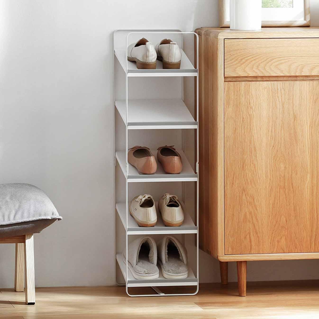 Kitchen Shelf Rack Singapore: Ascend Shoe Rack (Slim Design)