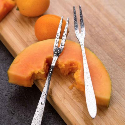 Fruit & Pastry Mini Fork Forks Utensils Cutleries Cutlery Dining Kitchen Cake Style Degree Sg Singapore