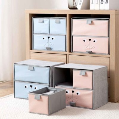 Pastelly Stackable Drawers Storage Box Containers Holders Wardrobe Cupboard Closet Undergarment Organizers Style Degree Sg Singapore