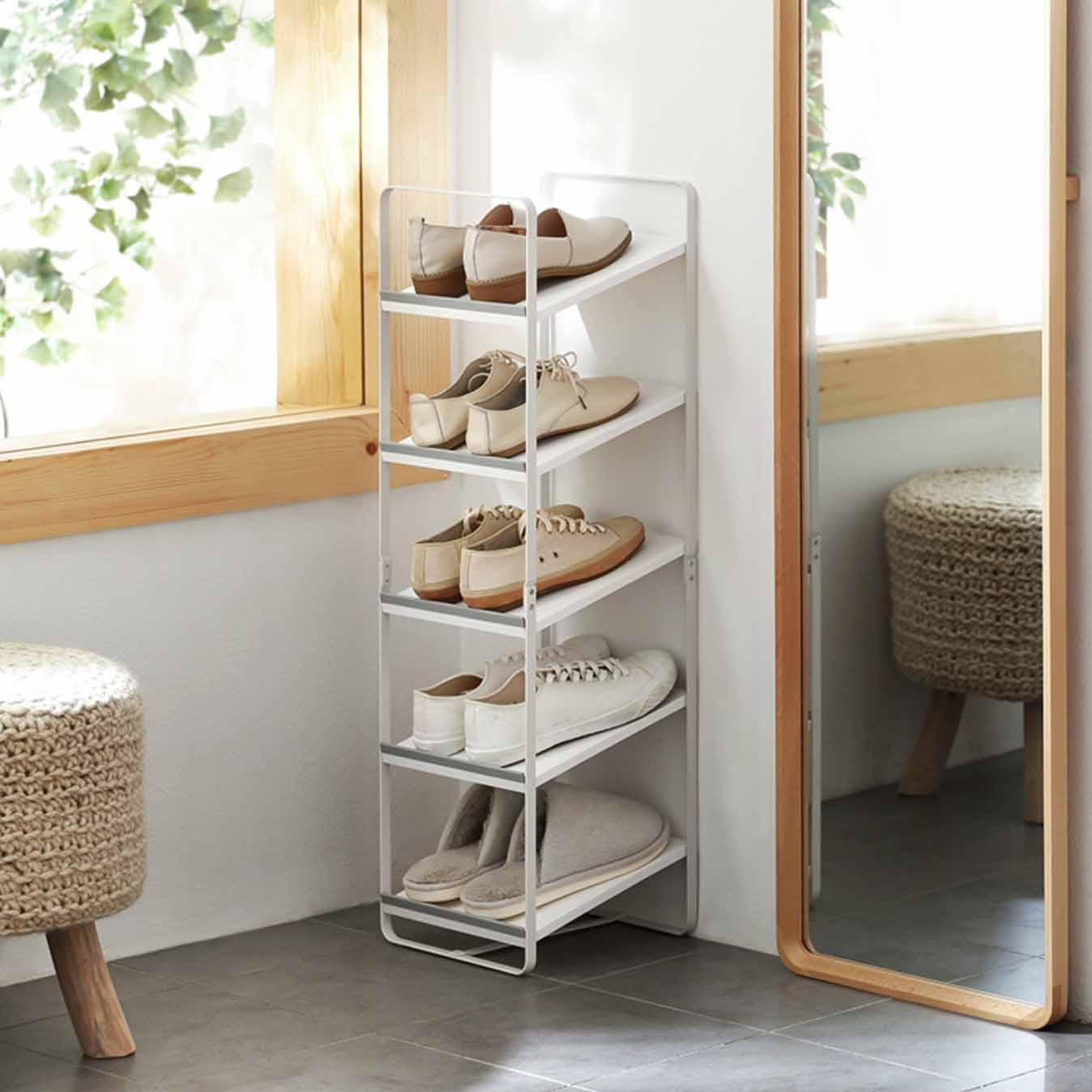 39386e8582baf1 Ascend Shoe Rack (Slim Design) Racks Organizer Footwear Organiser Storage  Slippers Style Degree Sg