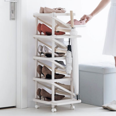 Ascend Shoe Rack (Slim Design)