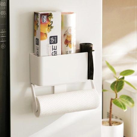 Magnetic Kitchen Towel Fridge Holder