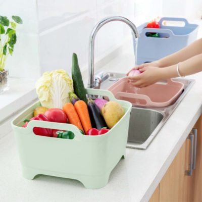Greens & Fruits Washer fruit washers container holders Colander Stainer Style Degree Sg Singapore