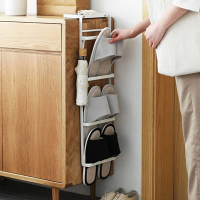 Ascend Footwear Organizer (Hanging Design) Shoes Slippers Organiser Shoe Rack Storage Living Room Home Decor Style Degree Sg Singapore