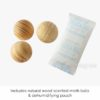 Cedar Moth Ball & Dehumidifier Hanging Holder Holders Scent Diffuser Wardrobe Style Degree Sg Singapore