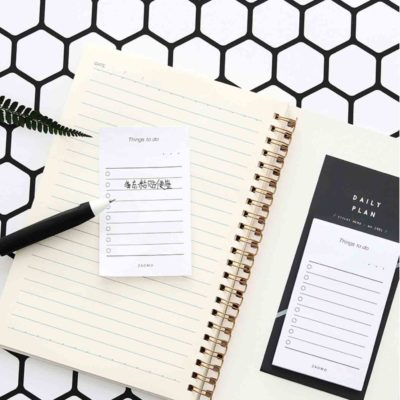 Modern To-Do List Planner Organizer Organiser Notebook Notepad Note Calendar 2019 Style Degree Sg Singapore