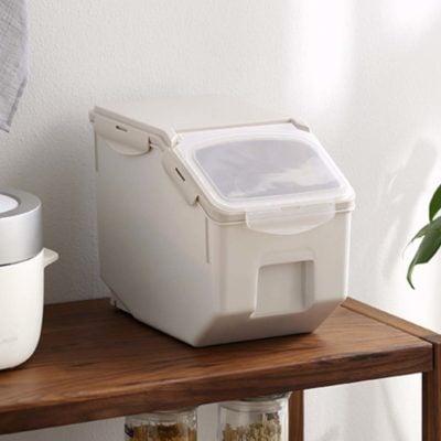 Premier Airtight Rice Box Storage Container Holder Organiser Organizer Grains Kitchen Style Degree Sg Singapore