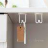Keys & Accessories Hanging Holder (2pc Set) Holders Hanger Hangers Hooks Kitchen Bathroom Toilet Organizer Organiser Style Degree Sg Singapore