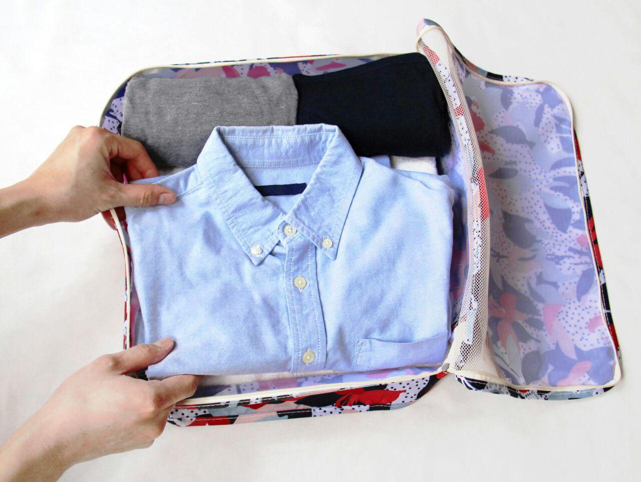 Artisan Luggage Organizer (8pc set), luggage organisers, travel organizers organizer clothes, travel packing, travel organization folding vs rolling clothes style degree singapore sg