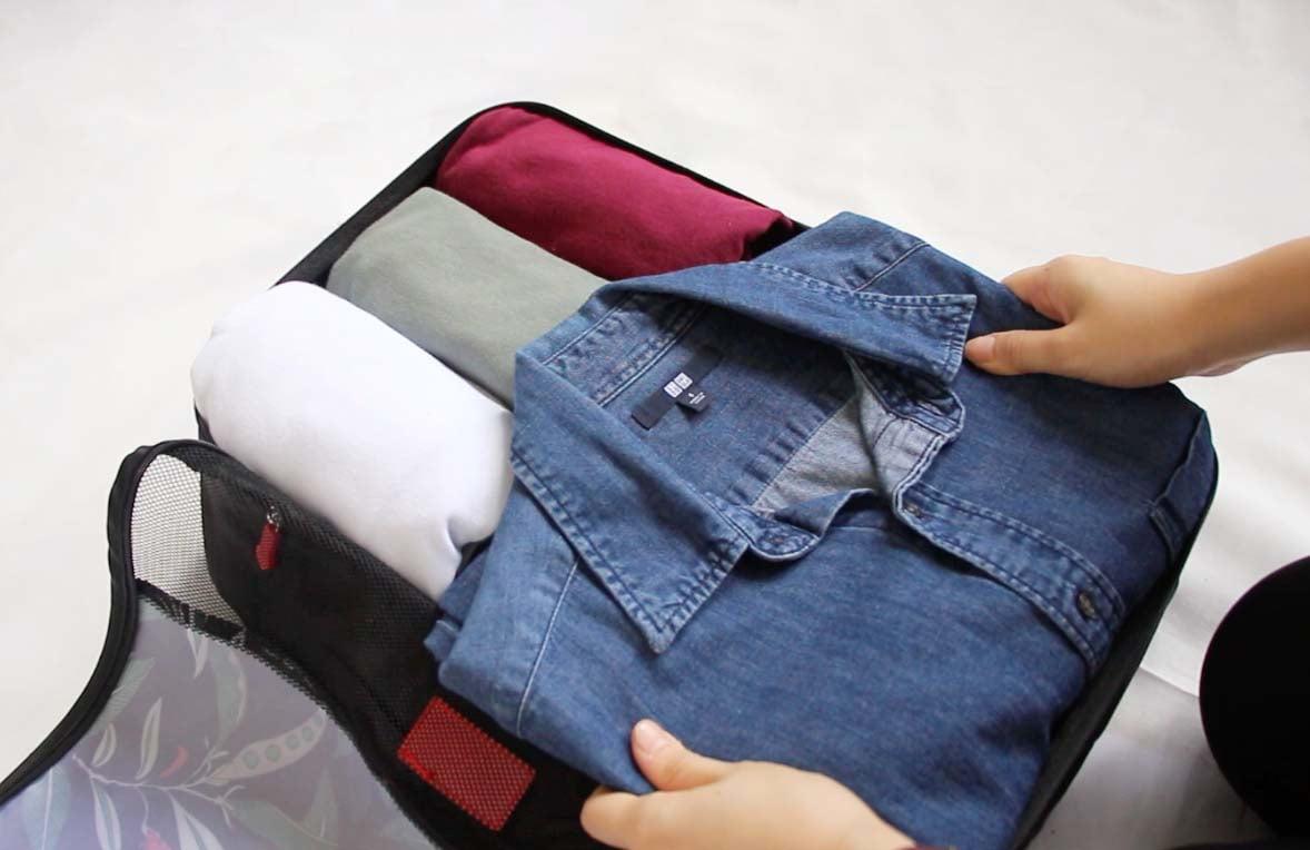 Le Fleur Luggage Organizer (6pc Set), luggage organisers, travel organizers organizer clothes, travel packing, travel organization style degree singapore sg
