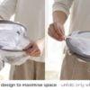 Sun & Air Mesh Hanger Hangers Dryer Laundry Organizer Soft Toys Toy Undergarment Lingerie Style Degree Sg Singapore