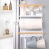 Scandinavian Magnetic Fridge Holder Holders Refrigerator Wall Organizer Organiser Style Degree Sg Singapore