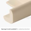 Carely Corner Guards Dining Table Desk Safety Pads Protector Foam Style Degree Sg Singapore