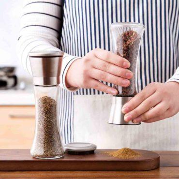 Klear Salt & Pepper Grinder Grinders Spices Powder Maker Style Degree Sg Singapore