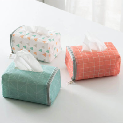 Pastel Tissue Sleeve (With Car Straps) Sleeves Cars Head Rest Holder Serviette Napkins Organizer Organiser Style Degree Sg Singapore