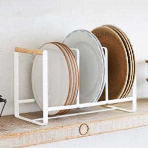 Scandinavian Dinnerware Organizer Organiser Plates Bowls Standing Holder Style Degree Sg Singapore