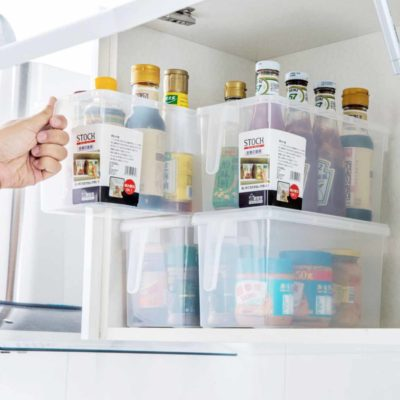 Protective Fridge & Cabinet Organizer (With Lid) Organiser Storage Containers Style Degree Sg Singapore